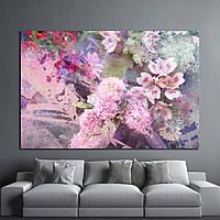 Картина - Абстракция цветы