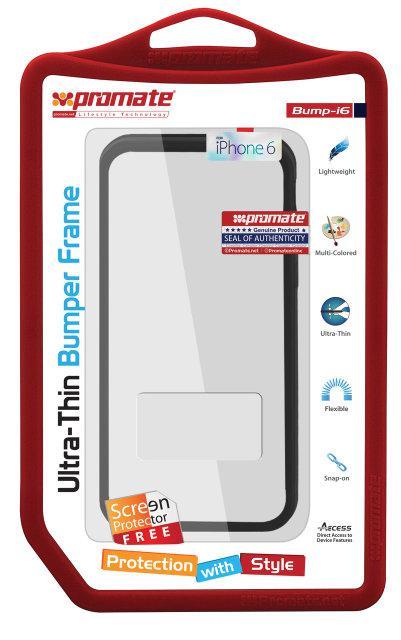 Чехол-бампер для iPhone Bump-i6 Black