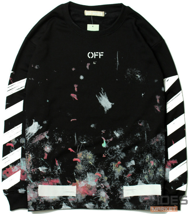 Лонгслив Off-white Black (ориг.бирка)