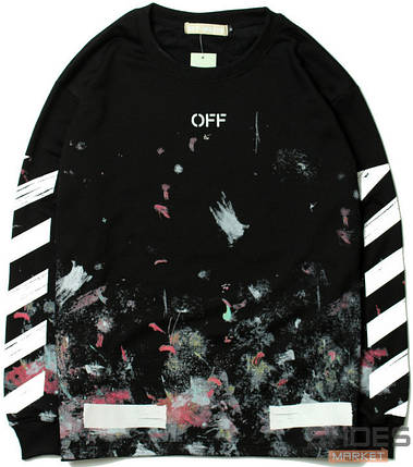 Лонгслив Off-white Black (ориг.бирка), фото 2
