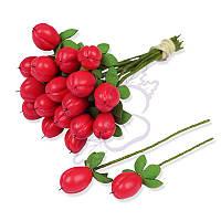 Декоративные ягодки от TM Lana Odis - Гиперикум, цвет розовый, размер ягодки до 15 мм, 1 шт