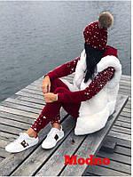 Мягкий, удобный костюмчик из королевского бархата с отделкой из жемчужин
