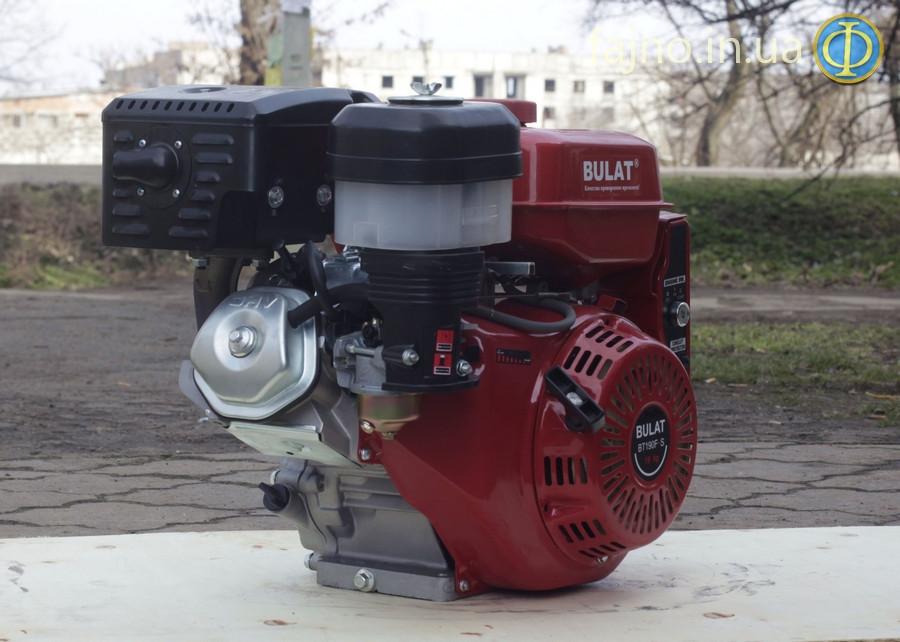 Бензиновый двигатель Bulat BТ190F-Т (16 л.с., шлицы, вал 25 мм)
