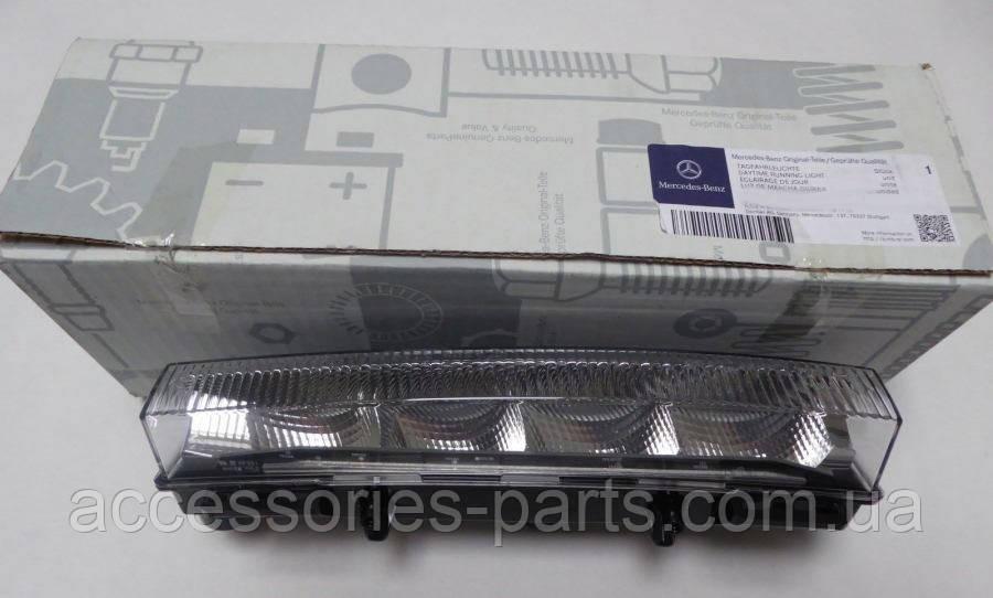 Фонарь передний дневного света габаритный диодный LED правый левый Mercedes ML/GLE W166