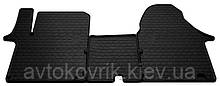 Резиновые коврики в салон Opel Vivaro I 2001-2014 (1+2) (STINGRAY)
