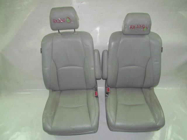 Сидения кожаные комплект серый (R) Lexus RX (XU30) 03-08 (Лексус)