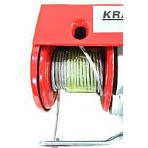 Лебедка электрическая канатная 250 KD1524, фото 2