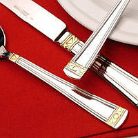 Набор столовых приборов Nova Gold 110 пр. в дипломате