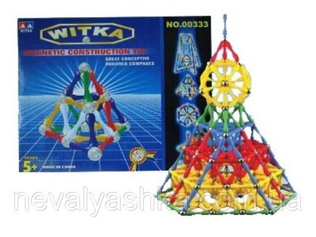 "Конструктор Магнитный Witka ""Magnetic"" , 64 дет.,00323, 006610"