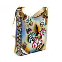 Женские сумки Linora - кожаные сумки с рисунком из Индии
