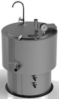 Котел пищеварочный 160 л КПЭ-160 (круглый)