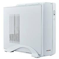 "Корпус LogicPower S601 W White, 400W, 80mm, Slim, Micro ATX / Mini ITX, 3.5mm х 2, USB2.0 x 2, 5.25"" x 1, 3.5"" x 2, 0.6mm, Card Reader"
