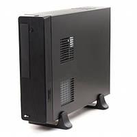 """Корпус PrologiX M02/102B Black, 400W, 80mm, Slim, Micro ATX / Mini ITX, 3.5mm х 2, USB2.0 x 2, 5.25"""" x 1, 3.5"""" x 1, 0.5mm, Card Reader"""