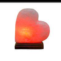 Сердце на боку соляная лампа, светильник, ночник