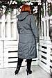Пальто демисезонное Аврора светло серый, фото 9