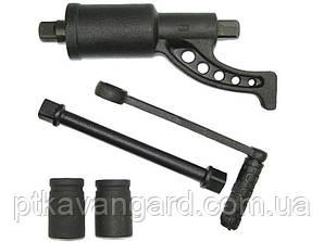 Ключ баллонный роторный на подшипнике для грузовых автомобилей 261 мм, 1:68, 5200Nm INTERTOOL XT-0002
