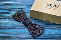 Галстук-бабочка I&M Craft из дерева (040200)