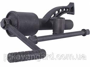 Ключ баллонный роторный для грузовых автомобилей 340мм, 1:78, 7000Nm, головки 32, 33мм INTERTOOL XT-0005