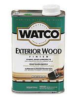 Защитное масло для деревянных фасадов и террас WATCO Exterior Wood Finish, 0,946 л.
