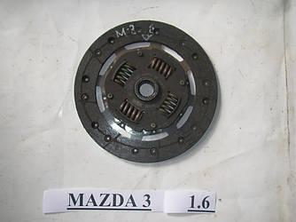 Диск сцепления 1.6 Mazda 3 BK 03-08 (Мазда 3 БК)  (Оригинальный № Z60116460D)