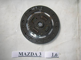 Диск сцепления 1.6 Mazda 3 (BK) 03-08 (Мазда 3 БК)  Z60116460D