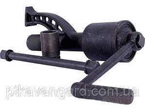 Ключ баллонный роторный для груз. автом. 380мм, двухскор., 1:58 и 1:3.8, 3800Nm INTERTOOL XT-0006