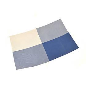 """Салфетка-сет под горячее синяя Helios """"4 цвета"""" 30х45см 6910"""
