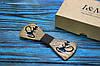 Галстук-бабочка I&M Craft из дерева с гравировкой в виде кальяна (052113)