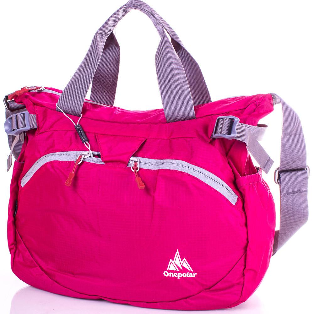 d0dfd4efeaff Сумка через плечо Onepolar Женская спортивная сумка ONEPOLAR (ВАНПОЛАР)  W5220-pink - Интернет