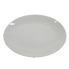 Блюдо фарфоровое белое овальное HoReCa 395х280 мм (HR1422), фото 2