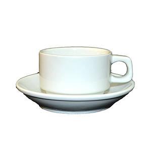 Набор для эспрессо Чашка 90мл + блюдце (Helios HR1302), фото 2