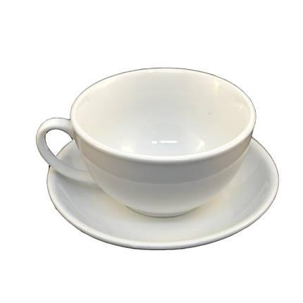 Набор для капучино Helios Чашка 200 мл + блюдце. HR1310, фото 2