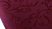 Лен  скатертный  бордо  ш-150 см