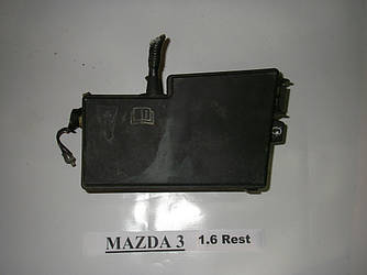 Блок предохранителей двигателя 1.6 Mazda 3 (BK) 03-08 (Мазда 3 БК)  BP4K66760B