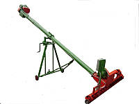 Погрузчик шнековый 140 мм. 7,5 м. +подборщик 2 метра 380В