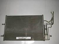 Радиатор кондиционера Mazda 3 BK 03-08 (Мазда 3 БК)  (Оригинальный № BPYK6148Z)