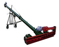 Погрузчик шнековый 200 мм. 5000 мм. с подборщиком.