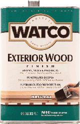 Защитное масло для деревянных фасадов и террас WATCO Exterior Wood Finish, 3.78 л.