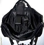 Портфель, сумка для ноутбука черного цвета 38*28 см, фото 5