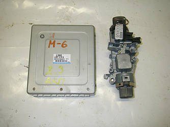 Блок управления двигателем комплект 2.3 АКПП USA Mazda 6 (GG) 03-07 (Мазда 6 ГГ)  L3M218881B