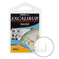 Крючок Excalibur Nase Bolo Red №12 (10шт)