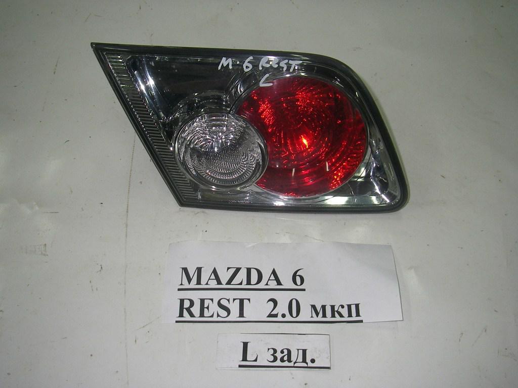 Фонарь левый внутренний седан рест Mazda 6 (GG) 03-07 (Мазда 6 ГГ)