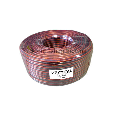 Акустический кабель VECTOR 2х0,5 мм2, фото 2