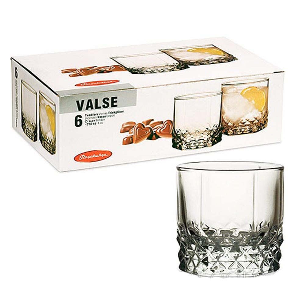 Набор стаканов Pasabahce Вальс 210мл*6шт 42943