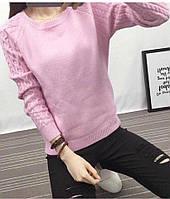 Тёплые свитер с  ангоры с узорами