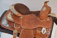 Седло для лошади WESTERN Z USA 17C