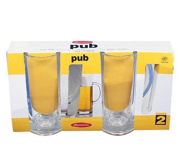 Набор пивных кружек Pasabahce Паб 2шт 300 мл