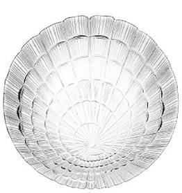 Большое круглое стеклянное блюдо для торта Pasabahce Атлантис 320 мм (10237)