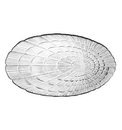 Набор селедочниц стеклянных Pasabahce Атлантис 147x240 mm 2шт (10238), фото 2