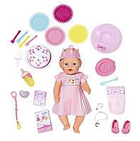 Кукла BABY BORN - ВЕСЕЛЫЙ ДЕНЬ РОЖДЕНИЯ (43 см, с аксессуарами)